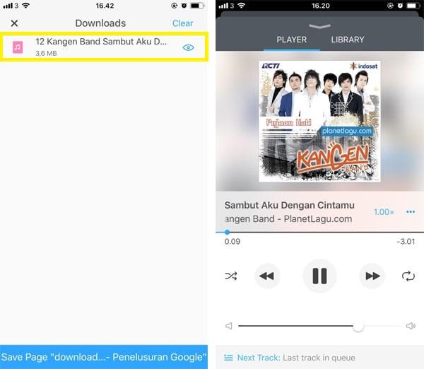 Cara Download Lagu MP3 Gratis di iPhone5