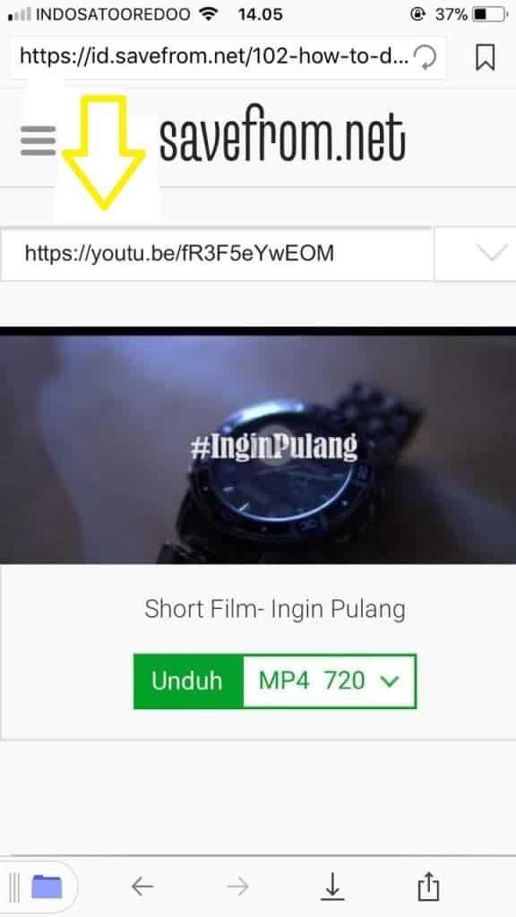 Cara Download Video Youtube di iPhone3