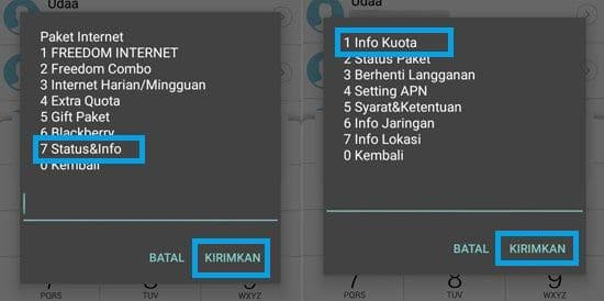 Cara Mengecek Kuota Internet Semua Operator14