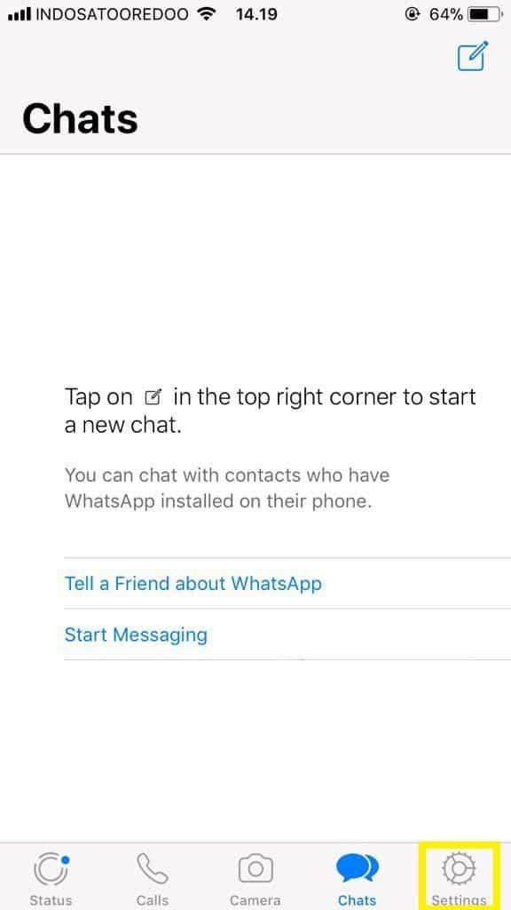 Cara Mengunci WhatsApp di iPhone