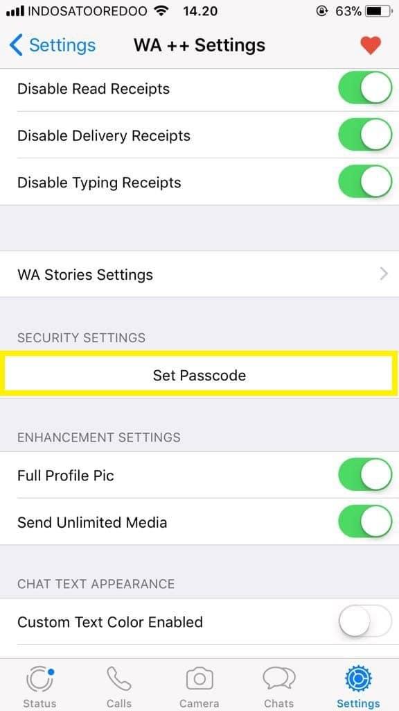 Cara Mengunci WhatsApp di iPhone2