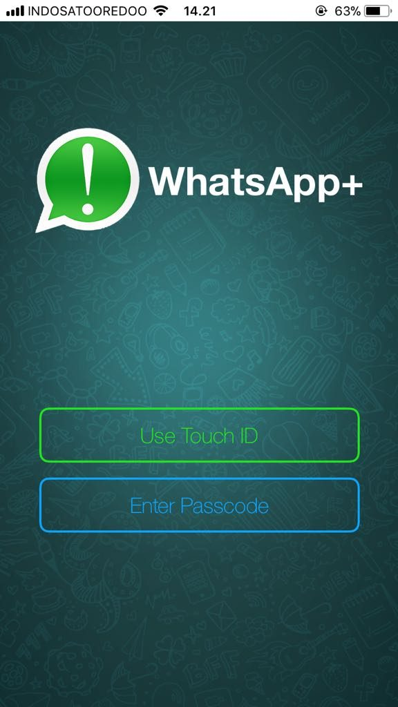 Cara Mengunci WhatsApp di iPhone5