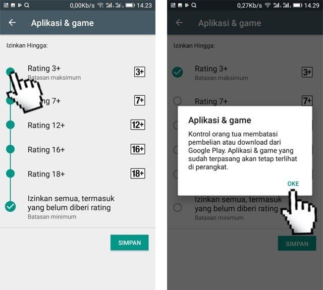 Cara Memblokir Aplikasi di Play Store Android4