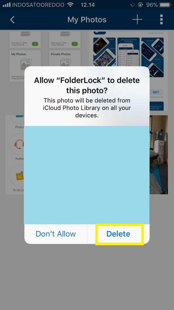 Cara Mengunci Galeri di iPhone6