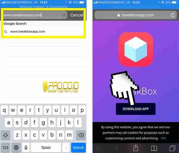 Cara Menyembunyikan Typing DM iPhone1