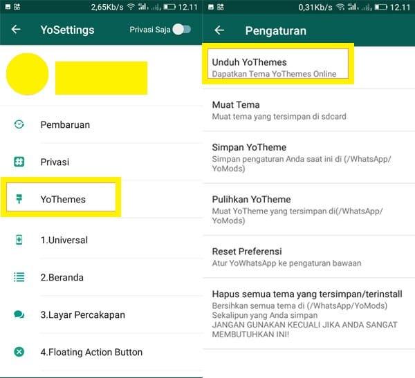 Cara Mengganti Tema WhatsApp Menjadi Tema Doraemon5