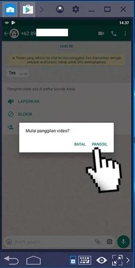 Cara Video Call di WhatsApp Lewat Laptop6