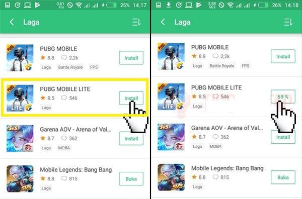 Cara Download dan Install PUBG Mobile LITE1