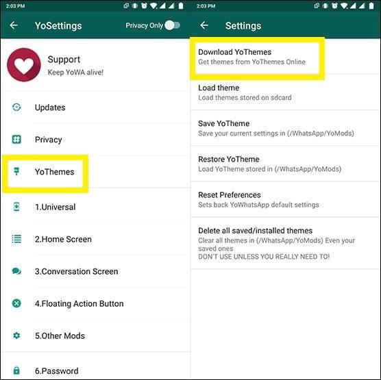 Cara Mengaktifkan Fitur Dark Mode di WhatsApp1