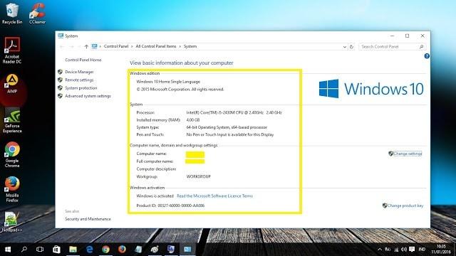 Cara Mengecek Spesifikasi Laptop di Windows 10 4