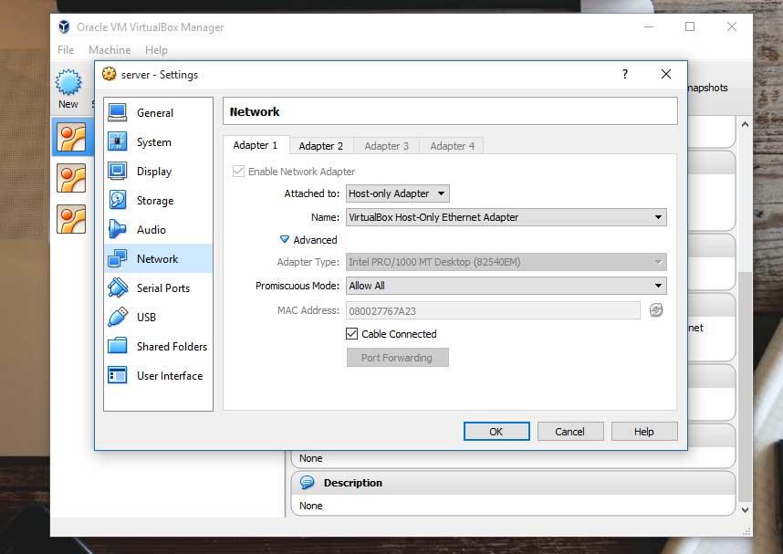 Cara Sharing Koneksi Internet Wifi ke VirtualBox