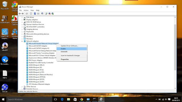Cara Mengatasi Error Saat Menjalankan Hosted Network Pada Windows4