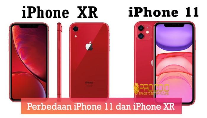 Perbedaan iPhone 11 dan iPhone XR