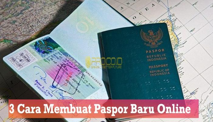 3 Cara Membuat Paspor Baru Online