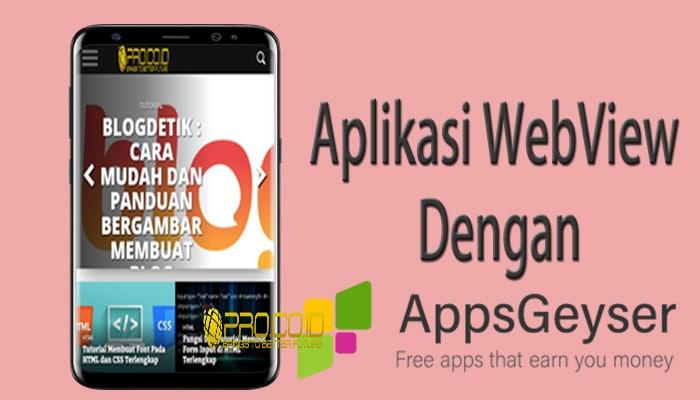 Aplikasi WebView