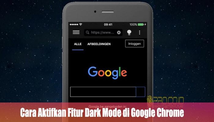 Cara Aktifkan Fitur Dark Mode di Google Chrome