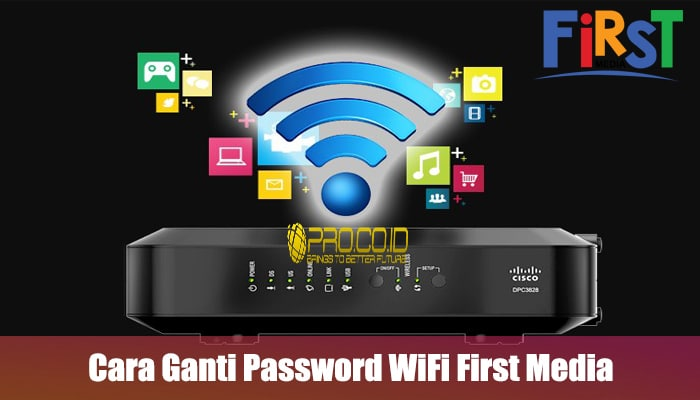 Cara Ganti Password WiFi First Media melalui android dan laptop