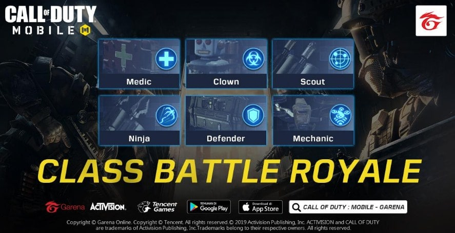 Mode Battle Royale