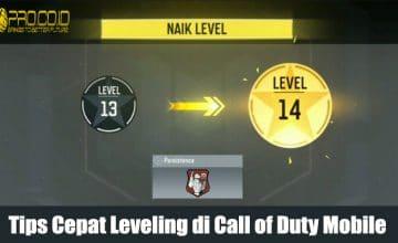 Beginiloh Cara Cepat Agar Kamu Naik Level Call of Duty Mobile