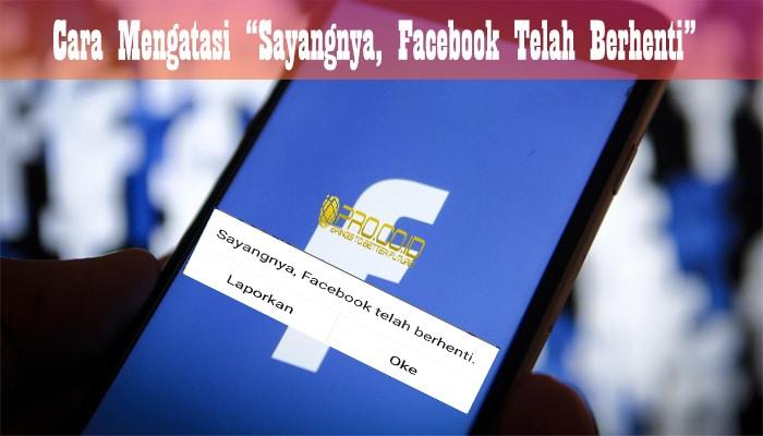 facebook terhenti