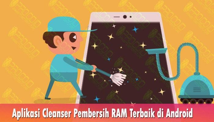 Aplikasi Cleanser Pembersih RAM