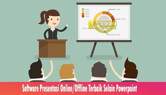 Software Presentasi Online Offline Terbaik Selain Powerpoint