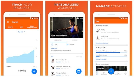 VirtualGym Fitness Tracker