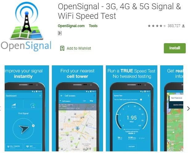 WiFi OpenSignal