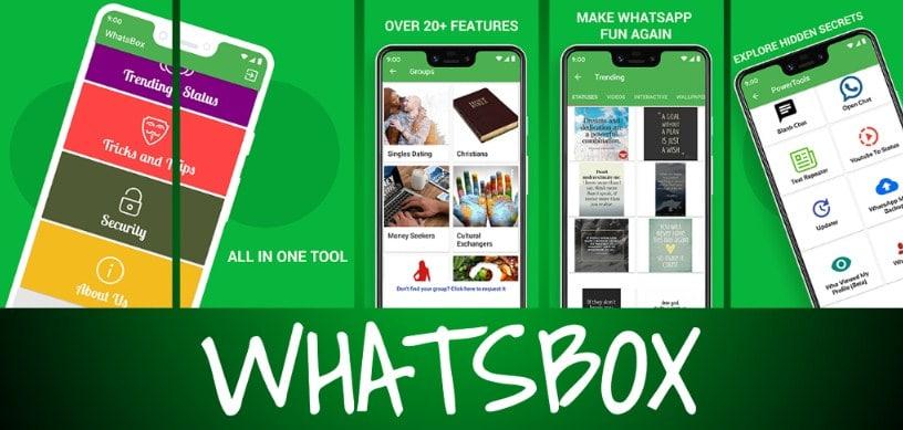 WhatsBox, Tool For WhatsApp