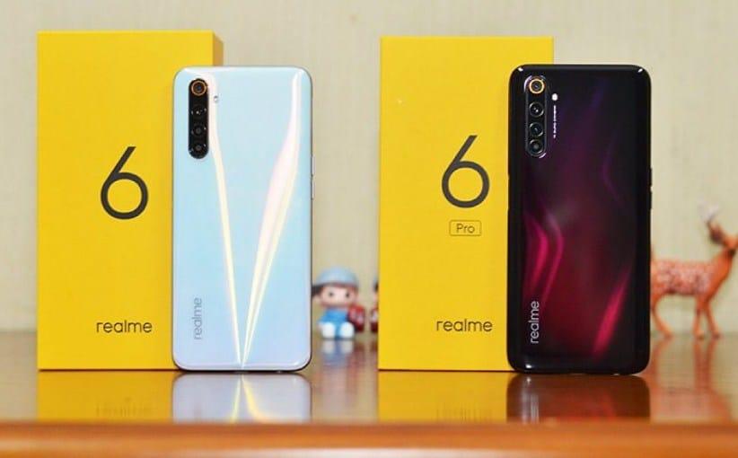 Realme 6 dan 6 Pro