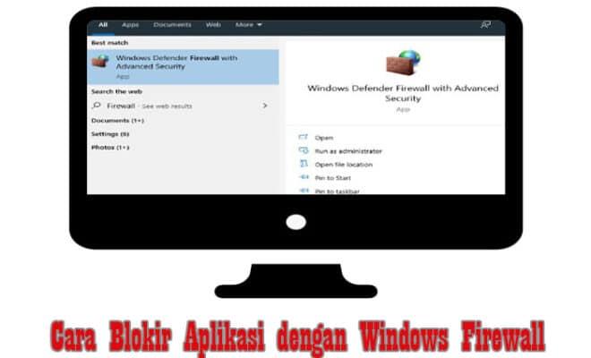 Cara Blokir Program/Aplikasi dengan Windows Firewall Paling Mudah | Pro.Co.Id