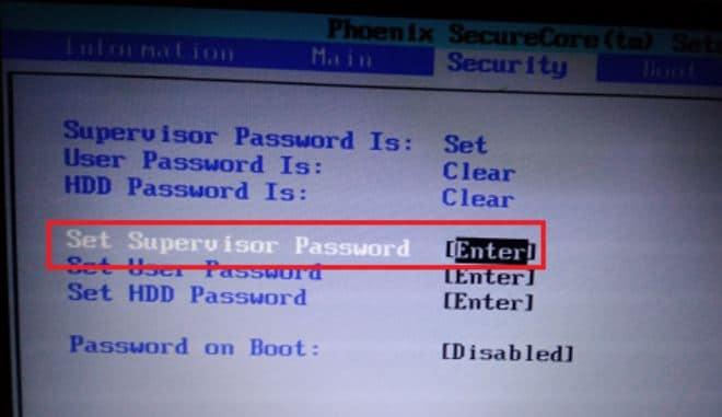 Cara Mengatasi Lupa Password di BIOS 4