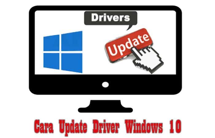 Cara Update Driver Windows 10