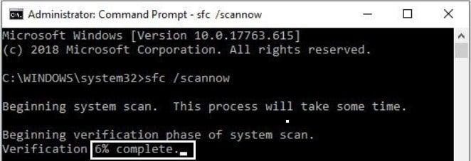 Scan system Menggunakan CMD