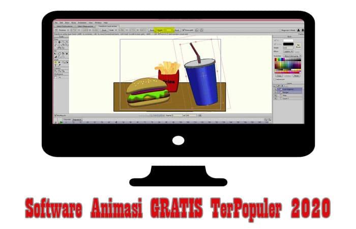 Software Animasi GRATIS TerPopuler 2020