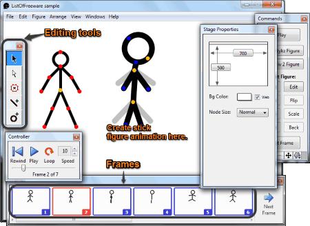 Software Stickman Animation