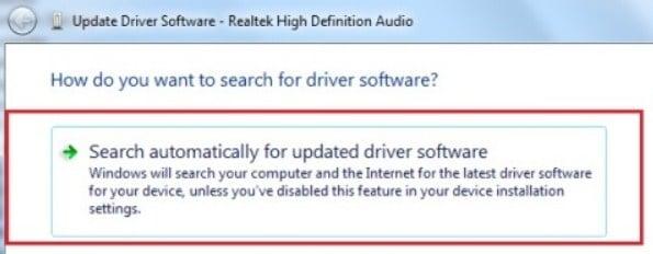 Update Sound Driver 2