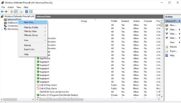 Windows Firewall 3