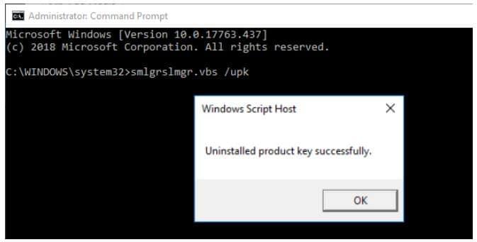 menghapus lisensi windows 10 3