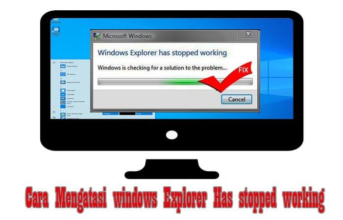 windows exploree Has stopped working