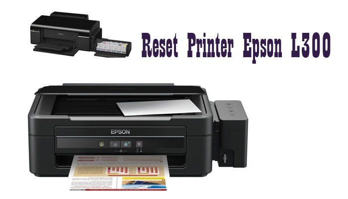 Reset Printer Epson L300